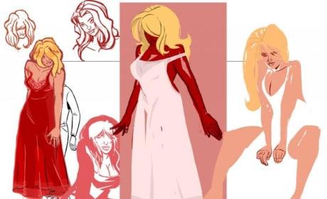 Nikki Nightgown Concept Art