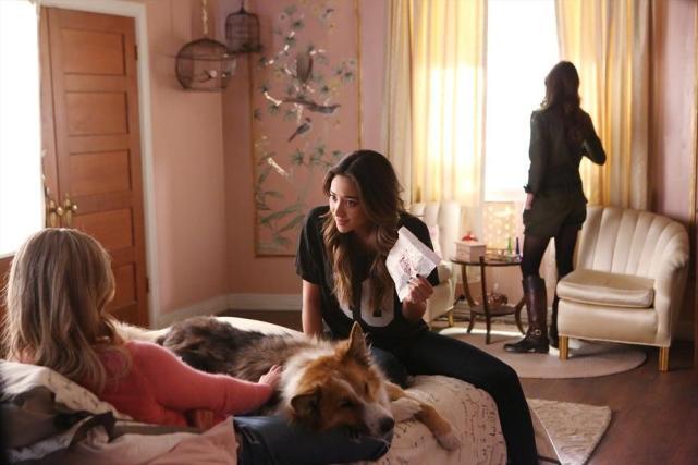 Emily Shoves Evidence at Ali