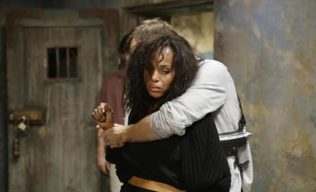 Olivia Pope Captured - Scandal Season 4 Episode 10