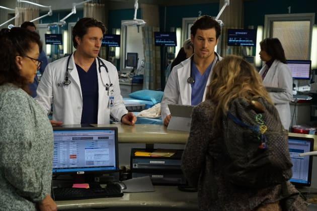 May I help you? - Grey's Anatomy Season 13 Episode 14
