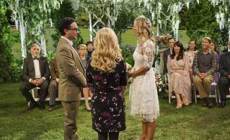 Making Vows - The Big Bang Theory Season 10 Episode 1