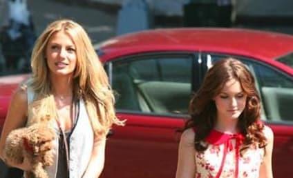 Gossip Girl Photos: Blake Lively, Leighton Meester on Set