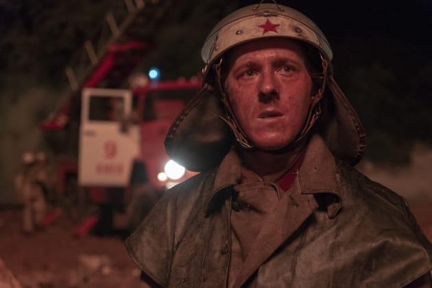 A Brave and Frightened Chernobyl Firefighter