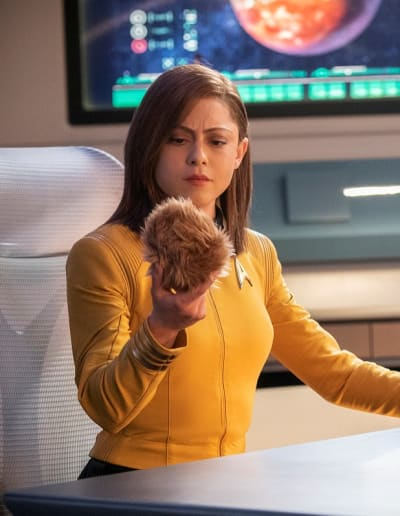 Trouble With Edward: Captain Lucero and a Tribble - Star Trek: Discovery