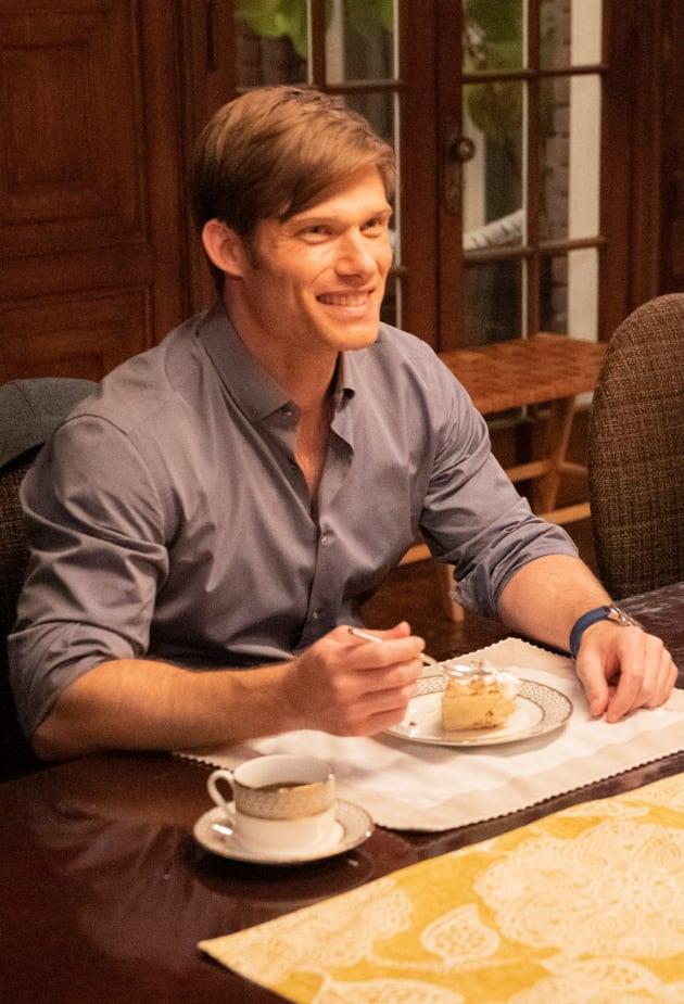Polite Dinner Conversation - Tall - Grey's Anatomy Season 15 Episode 21