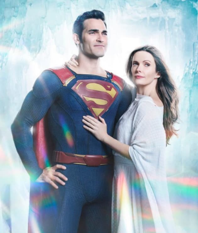 Superman and Lois Lane - Arrow