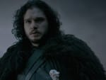 Jon Snow in the Snow - Game of Thrones