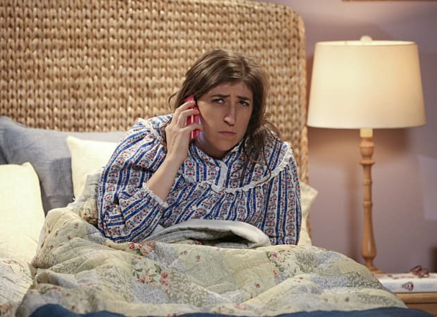 Amy Gets a Puzzling Phone Call - The Big Bang Theory Season 9 Episode 11