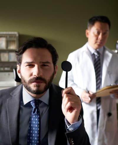 Josh's Eye Test - tall - In The Dark Season 3 Episode 1
