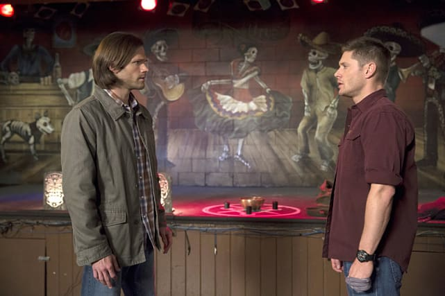 Sam and dean supernatural season 10 episode 23