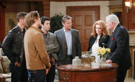 Victor Hands Over Titan - Days of Our Lives