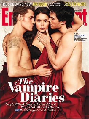 Vampire Diaries EW Cover