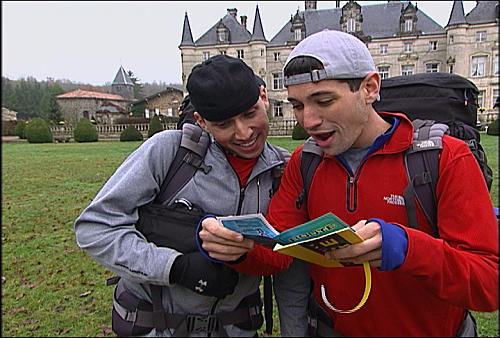 Dan and Jordan at the Pit Stop