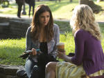Elena on Campus - The Vampire Diaries