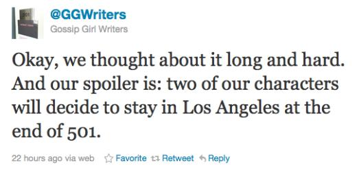 Writers Tweet