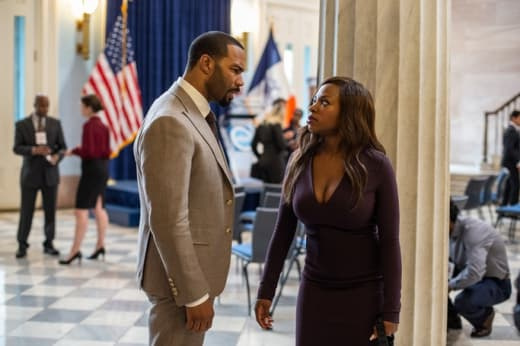 A Tense Conversation- Power Season 5 Episode 1