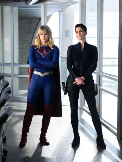 Kara and Alex - Supergirl Season 5 Episode 10