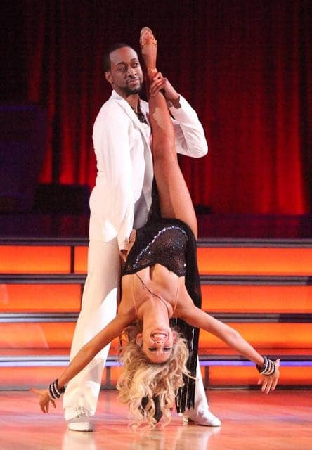 Jaleel White and Kym Johnson on Dancing With the Stars