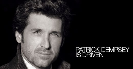 Patrick Dempsey is Driven