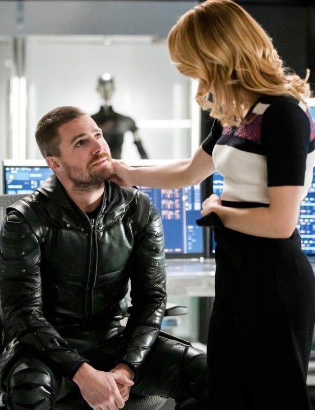 Family Drama  - Arrow Season 7 Episode 17