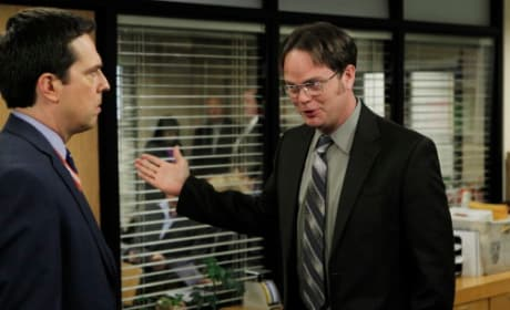 Andy and Dwight