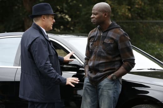 Dembe Goes Undercover - The Blacklist