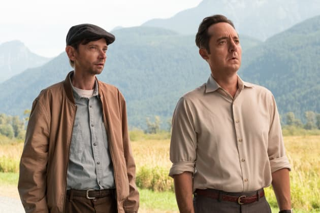 Ed and Bob Look Confused - The Man in the High Castle