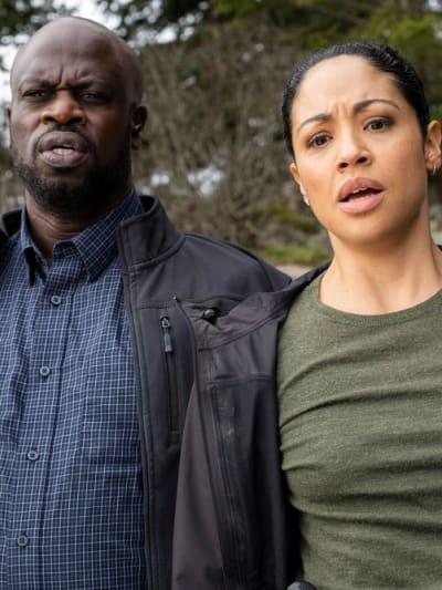Finola Has a New Partner - Debris Season 1 Episode 10