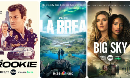 What to Watch: The Rookie, La Brea, Big Sky