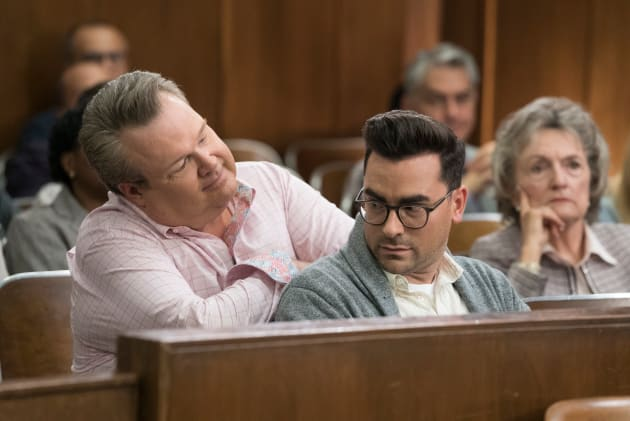 Cameron in the Courtroom - Modern Family Season 10 Episode 2