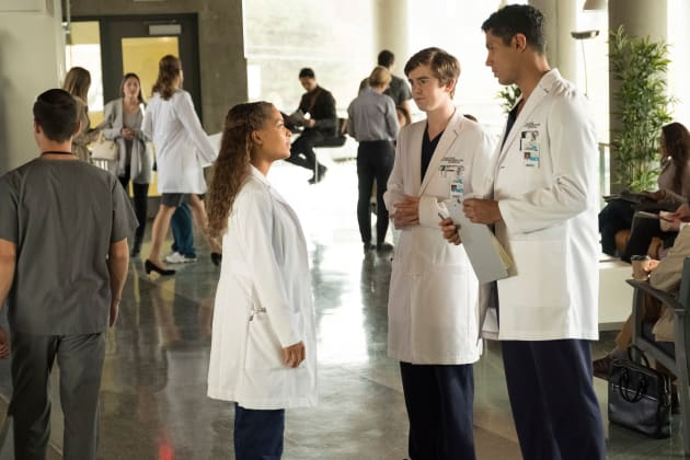 Claire talks to Jared and Shaun - The Good Doctor Season 1 Episode 10