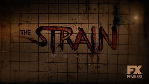 The Strain Title