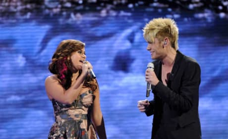 Skylar Laine and Colton Dixon