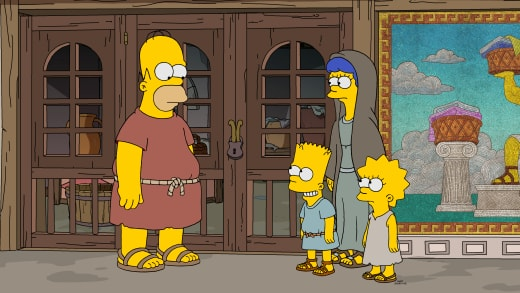 Ancient Rome - The Simpsons