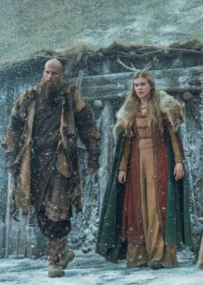 Floki and Aud - Vikings Season 5 Episode 16