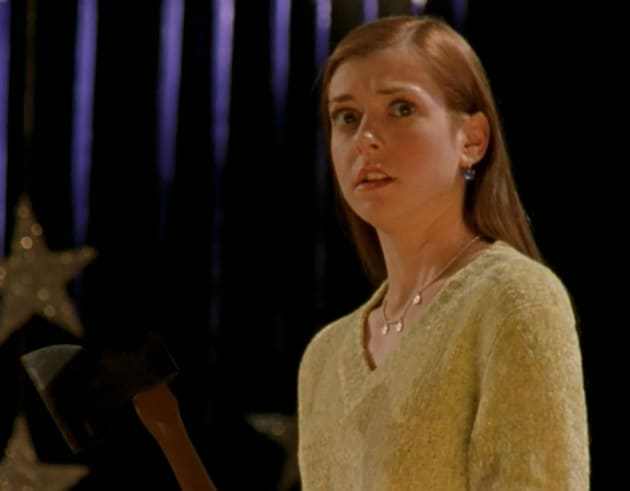 Caught On Stage - Buffy the Vampire Slayer Season 1 Episode 9