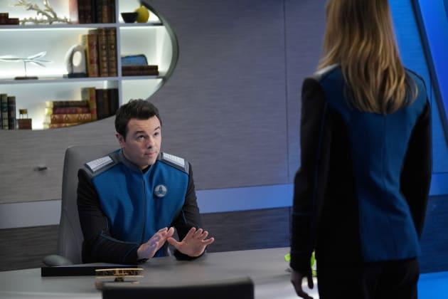 An Exec Decision - The Orville Season 2 Episode 1