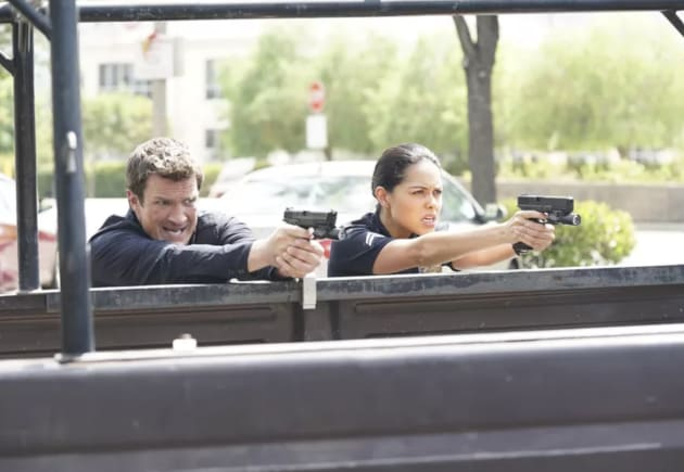 The Rookie Boss Reacts to the Show's First Big Exit - TV ...