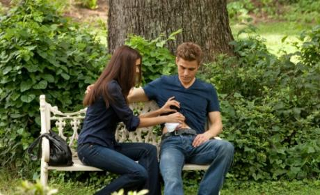 Tending to Her Man