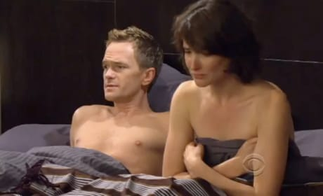 Barney and Robin in Bed