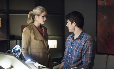 Felicity and Ray - Arrow Season 3 Episode 15