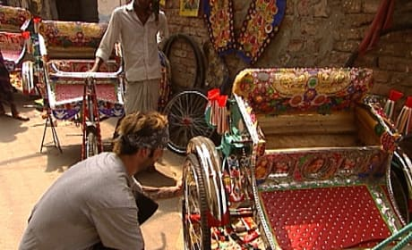 Nick Builds a Rickshaw