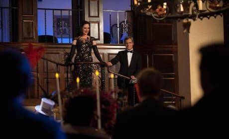 Conrad and Victoria at the Ball