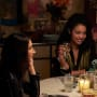 Kat and Adena Dinner Goals - The Bold Type Season 2 Episode 2