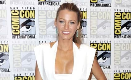 Blake Lively Makes Guys' Year at Comic-Con