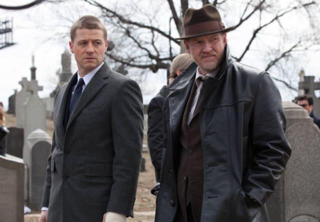 Donal Logue and Ben McKenzie on Gotham