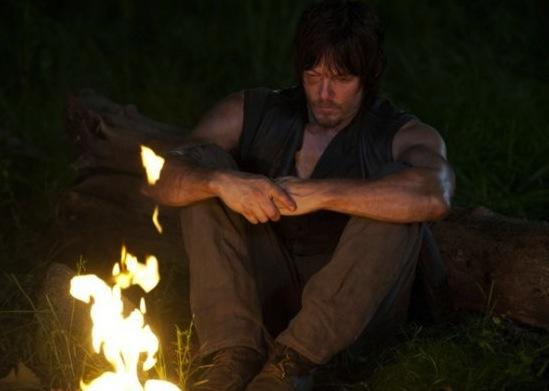 Daryl at a Fire