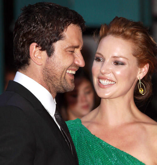 Katherine Heigl and Gerard Butler