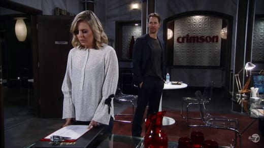 Maxie and Peter — General Hospital
