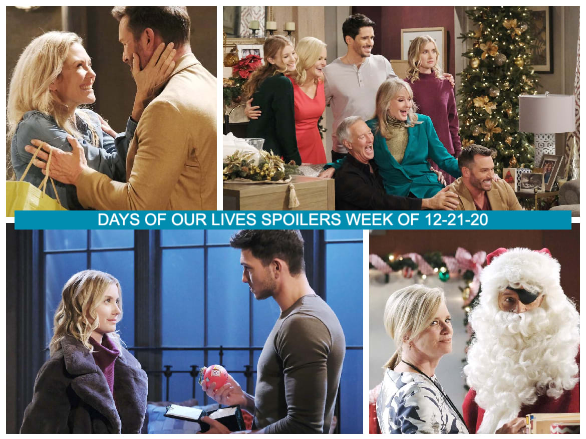 Christmas Day 2021 Days Of Our Lives Days Of Our Lives Spoilers Week Of 12 21 20 Five Days Of Christmas Tv Fanatic